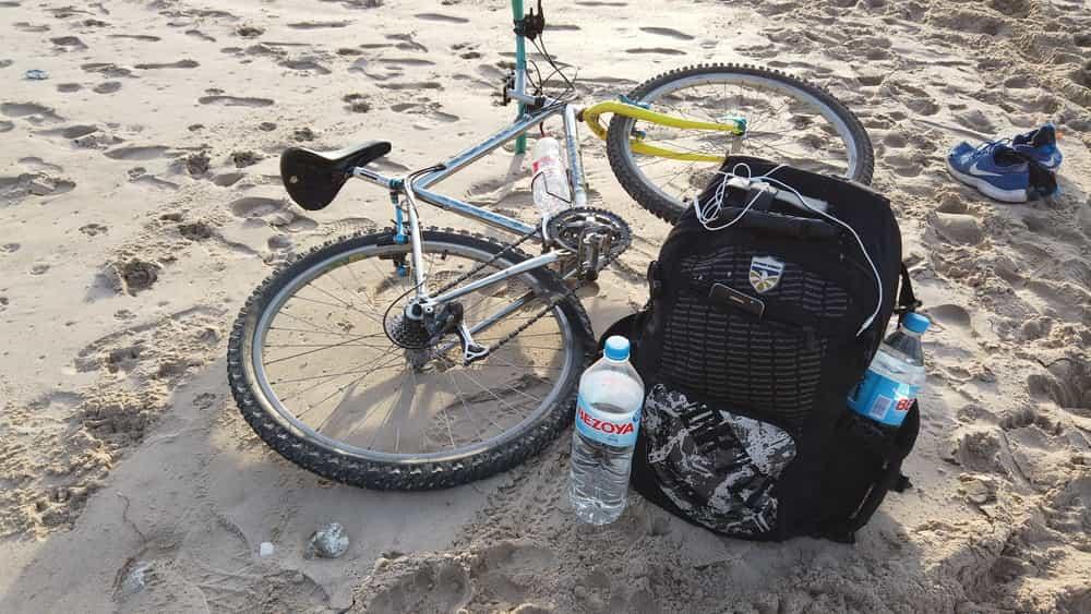 El material necesario para hacer un viaje en bicicleta barato